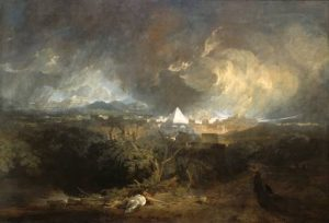 The Fifth Plague of Egypt exhibited 1800 Joseph Mallord William Turner 1775-1851 Indianapolis Museum of Art, Gift in memory of Evan F. Lilly http://www.tate.org.uk/art/work/TW1071